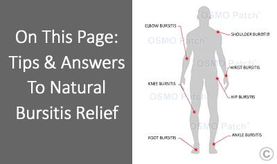 Bursitis Treatment - OSMO Patch