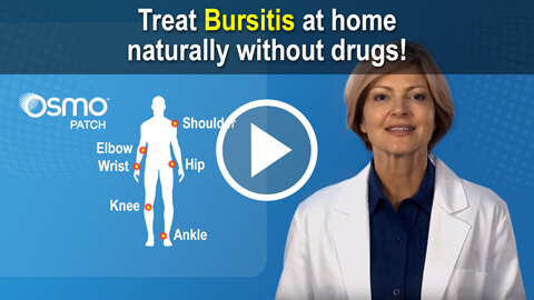 Treat bursitis naturally at home with the OSMO Patch